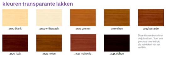 Wijzonol transparant hoogglanslak 750 cc voordelig en snel online verf bestellen - Kleurkaart kleur interieur verf ...